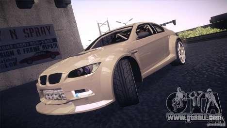 BMW M3 E92 Tuned for GTA San Andreas upper view