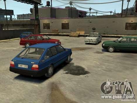 FSO Polonez Caro for GTA 4 bottom view