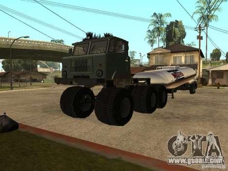 GAZ 66 Saiga for GTA San Andreas