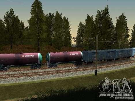 Tank wagon No. 51179257 for GTA San Andreas