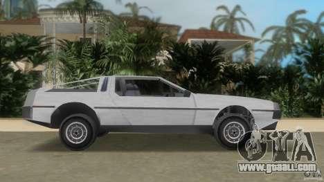 DeLorean for GTA Vice City left view