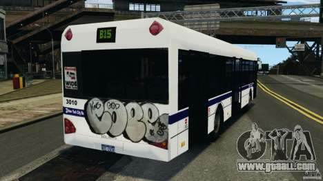Solaris Urbino 12 MTA for GTA 4 back left view