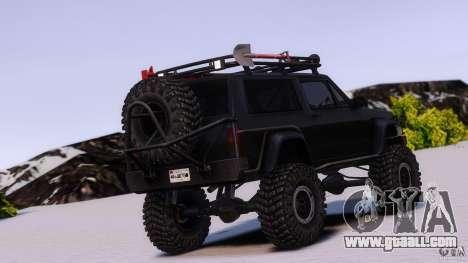 Jeep Cheeroke SE v1.1 for GTA 4 left view
