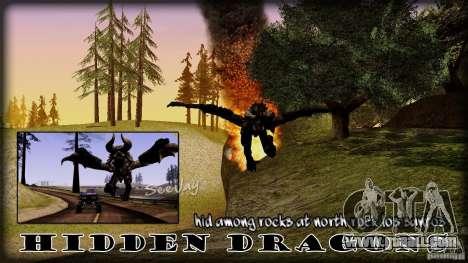 Hidden Dragon for GTA San Andreas