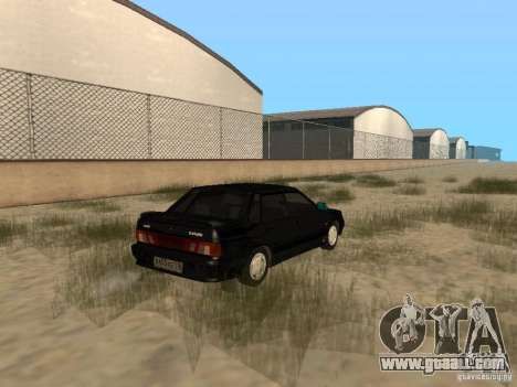 Vaz 2115 Light Tun v. 1.1 for GTA San Andreas