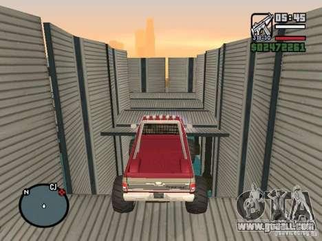 Monster tracks v1.0 for GTA San Andreas seventh screenshot