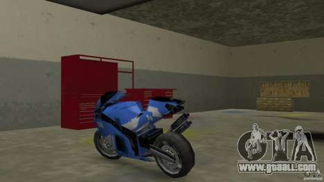 Yamaha YZF R1 for GTA Vice City back left view