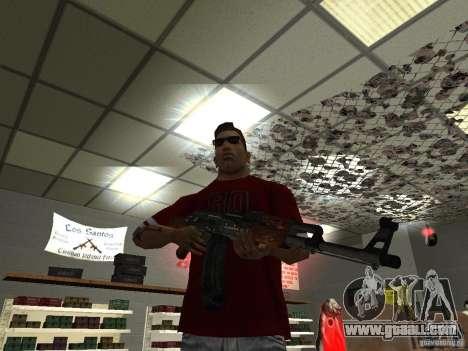 AK-47 HD for GTA San Andreas