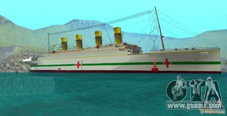 HMHS Britannic for GTA San Andreas