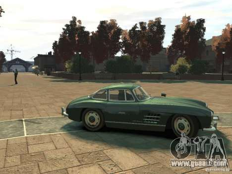 Mercedes-Benz 300SL Gullwing for GTA 4 back left view