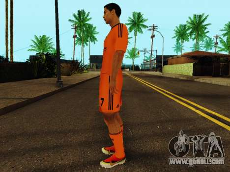 Cristiano Ronaldo v3 for GTA San Andreas third screenshot