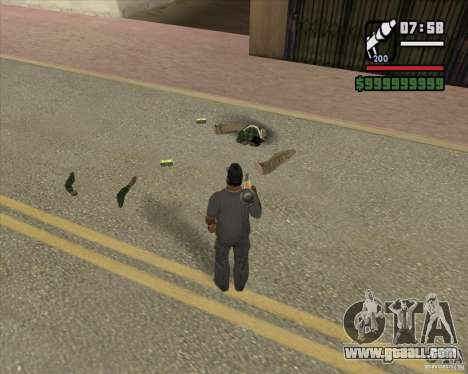 Real Ragdoll Mod Update 2011.09.15 for GTA San Andreas third screenshot
