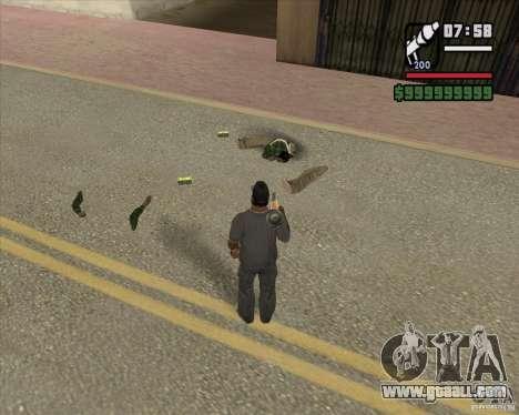 Real Ragdoll Mod Update 2011.09.15 for GTA San Andreas third screenshot