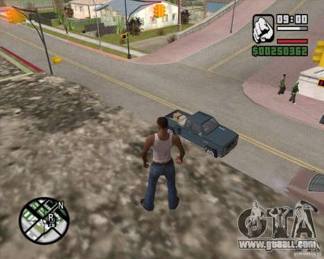GTA 4 Anims for SAMP v2.0 for GTA San Andreas seventh screenshot