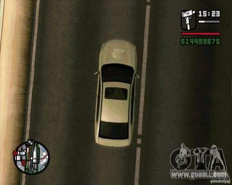 Subaru Legacy 2010 v.2 for GTA San Andreas right view