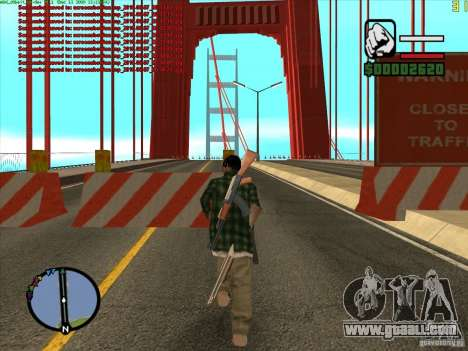 Takomskij Bridge (Tacoma Narrows Bridge) for GTA San Andreas second screenshot