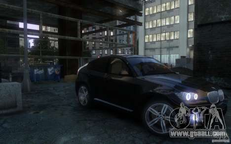 BMW X6 for GTA 4 right view