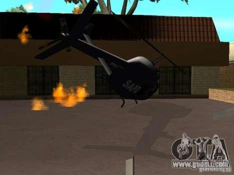 Wrecked car fix for GTA San Andreas third screenshot