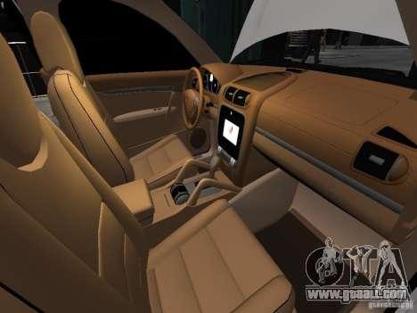 Porsche Cayenne Turbo 2003 v.2.0 for GTA 4 bottom view