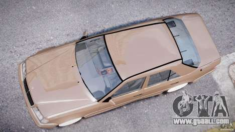 Mercedes-Benz W124 E500 1995 for GTA 4 upper view