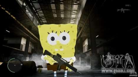 Spongebob for GTA 4 sixth screenshot