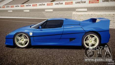 Ferrari F50 Spider v2.0 for GTA 4 left view