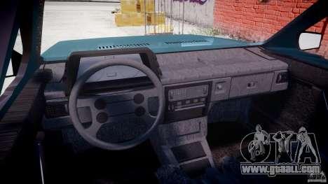 Volkswagen Gol GL for GTA 4 right view