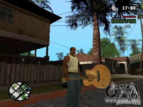 Guitar for GTA San Andreas