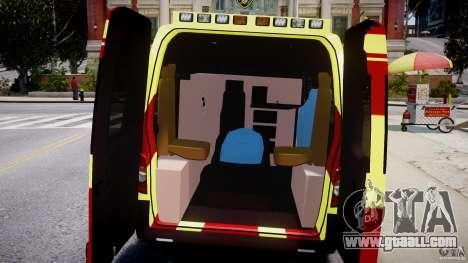 Renault Master 2007 Ambulance Scottish for GTA 4 right view