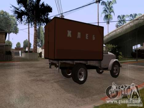 GAZ 51 Bread for GTA San Andreas left view