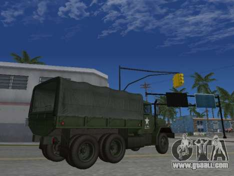 AM General M35A2 for GTA San Andreas side view