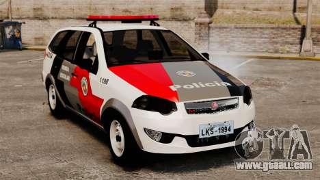 Fiat Palio Weekend Trekking 2013 PMESP ELS for GTA 4
