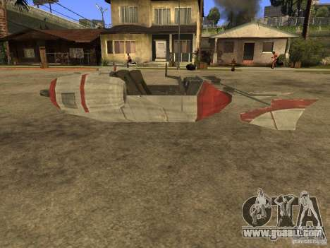 Baggage from Star Wars for GTA San Andreas left view
