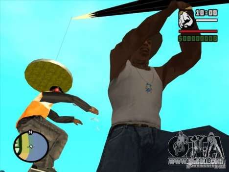 Fishing for GTA San Andreas forth screenshot