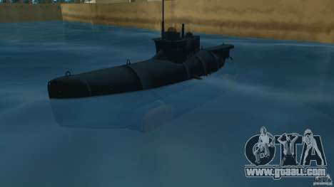 Seehund Midget Submarine skin 2 for GTA Vice City