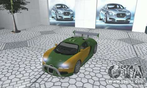 Bugatti Veyron 2005 for GTA San Andreas