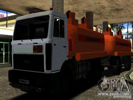 MAZ 533702 Truck for GTA San Andreas