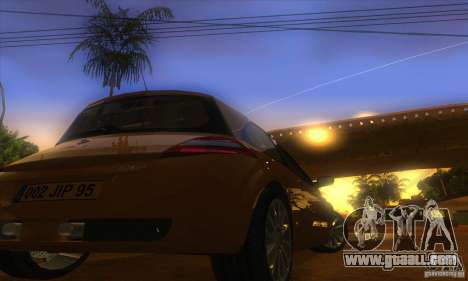 Renault Megane RS II V1.0 for GTA San Andreas back view