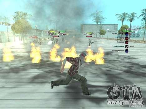 SA:MP 0.3d for GTA San Andreas forth screenshot