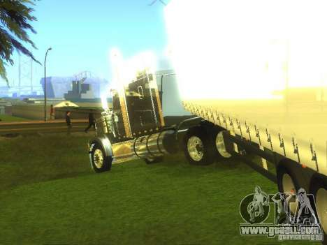 International 9900 for GTA San Andreas left view