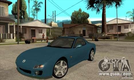 Mazda RX-7 - Stock for GTA San Andreas