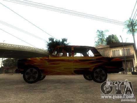 VAZ 2106 of the game S.T.A.L.K.E.R. for GTA San Andreas left view