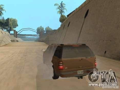 Chevrolet Suburban 2003 for GTA San Andreas back view