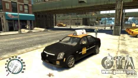 Cadillac CTS-V Taxi for GTA 4