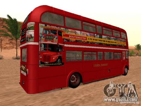 AEC RouteMaster RML for GTA San Andreas right view