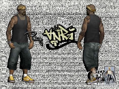 Gagns skinpack by AnRi for GTA San Andreas third screenshot