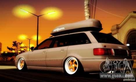 Audi RS2 Avant Thug for GTA San Andreas left view