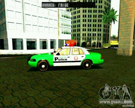 Ford Crown Victoria 2003 Police Interceptor VCPD for GTA San Andreas left view