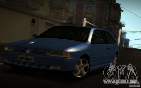 Volkswagen Golf GTI 1996 for GTA San Andreas back left view