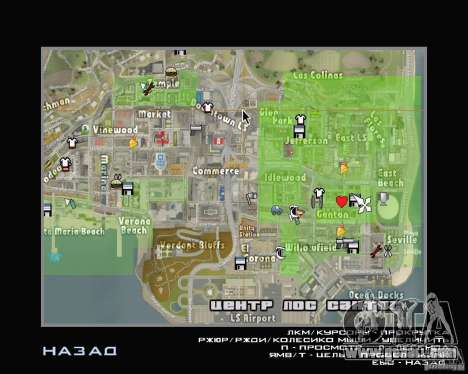 New map icons for GTA San Andreas